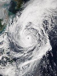台風21号の威力